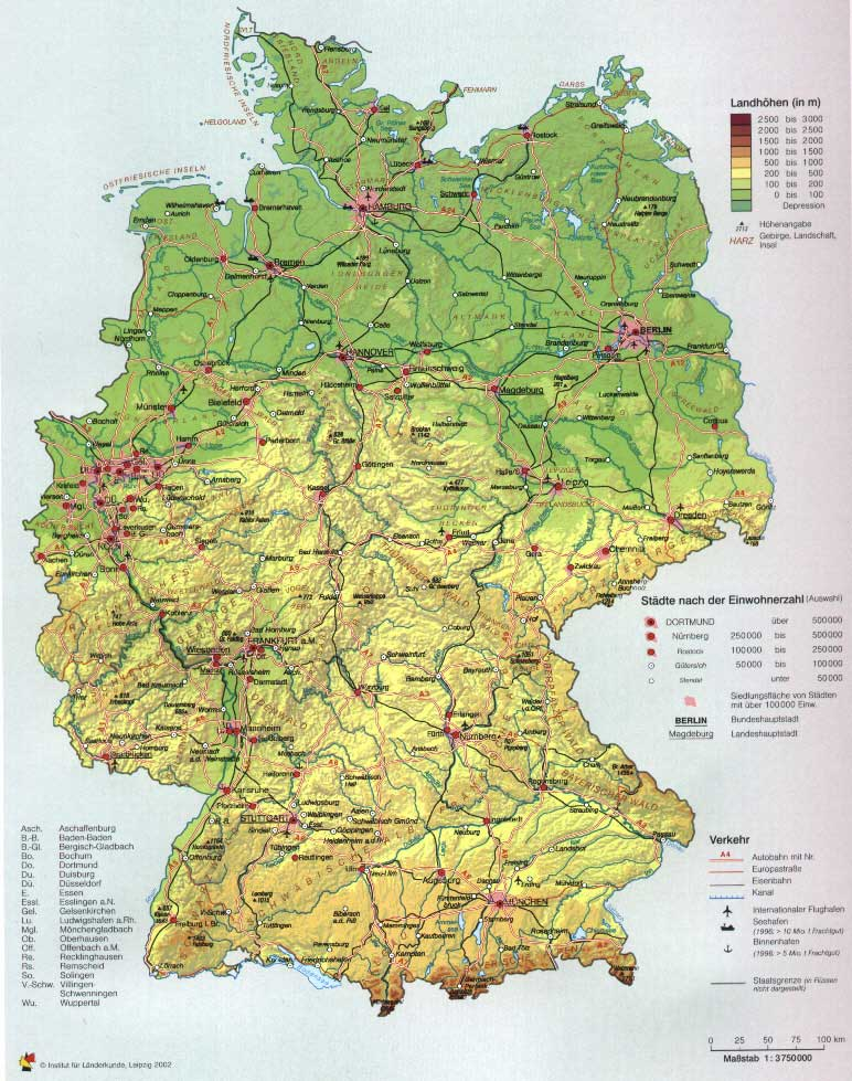 Imagexxl Deutschlandkarte